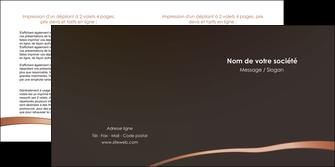 faire modele a imprimer depliant 2 volets  4 pages  web design texture contexture structure MID93963