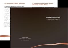 modele en ligne depliant 2 volets  4 pages  web design texture contexture structure MLGI93973