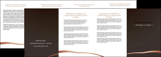 creation graphique en ligne depliant 4 volets  8 pages  web design texture contexture structure MLGI93995