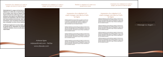 creation graphique en ligne depliant 4 volets  8 pages  web design texture contexture structure MIS93995