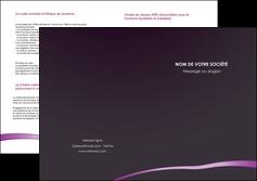 modele depliant 2 volets  4 pages  web design texture contexture structure MIF94029