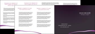 exemple depliant 4 volets  8 pages  web design texture contexture structure MIF94051