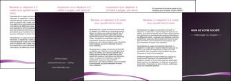 faire modele a imprimer depliant 4 volets  8 pages  web design texture contexture structure MIF94057
