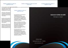 faire modele a imprimer depliant 3 volets  6 pages  web design contexture structure fond MLGI94199