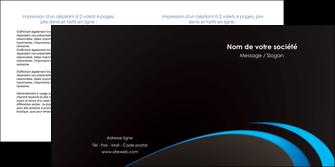 modele depliant 2 volets  4 pages  web design contexture structure fond MLGI94203