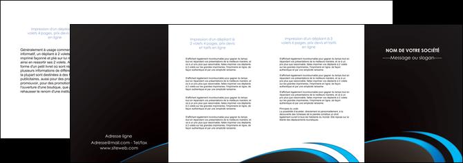 faire depliant 4 volets  8 pages  web design contexture structure fond MLGI94235