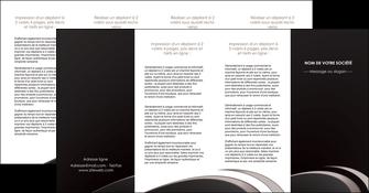 realiser depliant 4 volets  8 pages  web design contexture structure fond MLGI94301