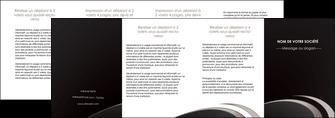 impression depliant 4 volets  8 pages  web design contexture structure fond MLGI94303