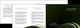 creer modele en ligne depliant 4 volets  8 pages  texture contexture structure MLGI94401