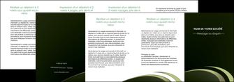 modele depliant 4 volets  8 pages  texture contexture structure MLGI94407