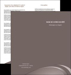 personnaliser maquette depliant 2 volets  4 pages  web design texture contexture structure MLGI94523