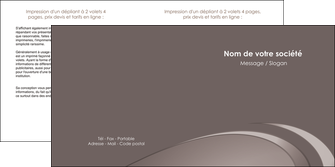 maquette en ligne a personnaliser depliant 2 volets  4 pages  web design texture contexture structure MLGI94525