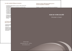 modele depliant 2 volets  4 pages  web design texture contexture structure MLGI94535