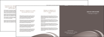 modele depliant 4 volets  8 pages  web design texture contexture structure MLGI94557