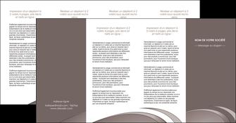 faire modele a imprimer depliant 4 volets  8 pages  web design texture contexture structure MLGI94561