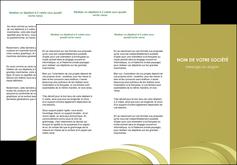 impression depliant 3 volets  6 pages  texture contexture structure MLGI94625