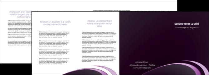 faire modele a imprimer depliant 4 volets  8 pages  web design texture contexture structure MLGI94783