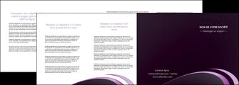 faire modele a imprimer depliant 4 volets  8 pages  web design texture contexture structure MLIG94783