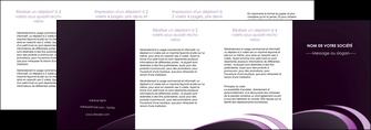 creer modele en ligne depliant 4 volets  8 pages  web design texture contexture structure MLIG94789