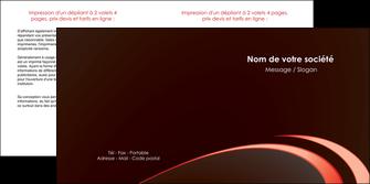 cree depliant 2 volets  4 pages  web design texture contexture structure MLGI94803