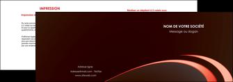 personnaliser maquette depliant 2 volets  4 pages  web design texture contexture structure MLGI94817