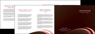 cree depliant 4 volets  8 pages  web design texture contexture structure MLGI94835