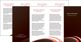 modele en ligne depliant 4 volets  8 pages  web design texture contexture structure MLGI94839