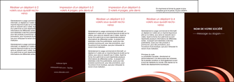 creation graphique en ligne depliant 4 volets  8 pages  web design texture contexture structure MLGI94841