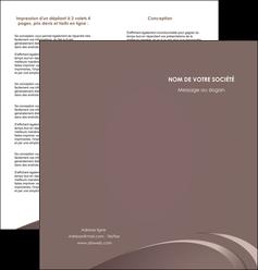 impression depliant 2 volets  4 pages  web design texture contexture structure MLGI94853