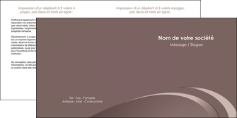 imprimer depliant 2 volets  4 pages  web design texture contexture structure MLGI94855