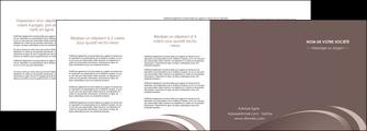 impression depliant 4 volets  8 pages  web design texture contexture structure MLGI94887