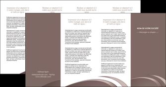 modele en ligne depliant 4 volets  8 pages  web design texture contexture structure MLGI94891