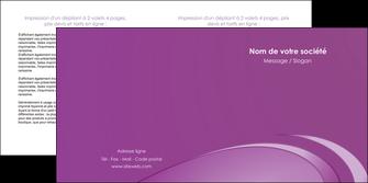 realiser depliant 2 volets  4 pages  reseaux texture contexture structure MLGI94927