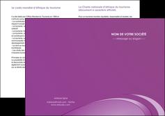 realiser depliant 2 volets  4 pages  reseaux texture contexture structure MLGI94937