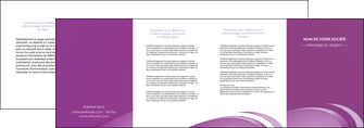 creer modele en ligne depliant 4 volets  8 pages  reseaux texture contexture structure MLGI94959