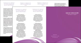 imprimer depliant 4 volets  8 pages  reseaux texture contexture structure MLGI94963