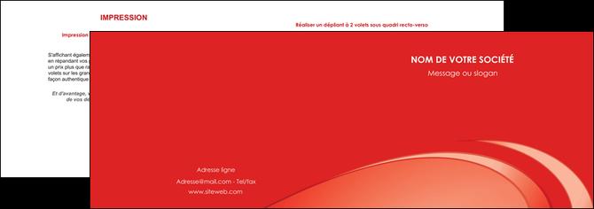 modele depliant 2 volets  4 pages  web design texture contexture structure MIS94995