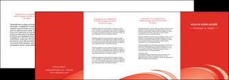 faire modele a imprimer depliant 4 volets  8 pages  web design texture contexture structure MLGI95011