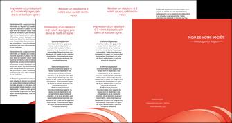 cree depliant 4 volets  8 pages  web design texture contexture structure MLGI95015
