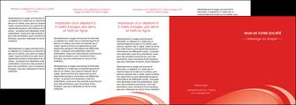 realiser depliant 4 volets  8 pages  web design texture contexture structure MLGI95017