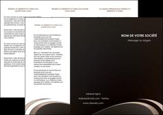 cree depliant 3 volets  6 pages  web design texture contexture structure MLGI95027