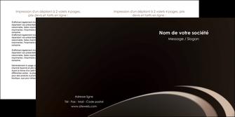 modele en ligne depliant 2 volets  4 pages  web design texture contexture structure MLGI95031