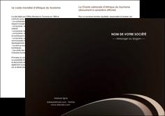 imprimer depliant 2 volets  4 pages  web design texture contexture structure MLIG95041