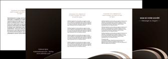 personnaliser modele de depliant 4 volets  8 pages  web design texture contexture structure MLGI95063