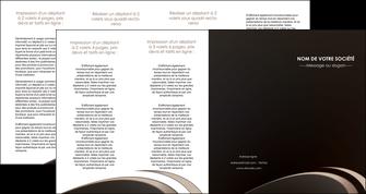 cree depliant 4 volets  8 pages  web design texture contexture structure MLGI95067