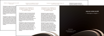 faire modele a imprimer depliant 4 volets  8 pages  web design texture contexture structure MLIG95069