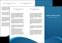 creer modele en ligne depliant 3 volets  6 pages  web design texture contexture structure MLGI95095