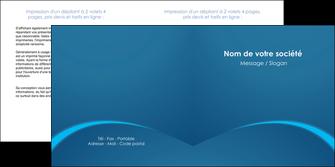 maquette en ligne a personnaliser depliant 2 volets  4 pages  web design texture contexture structure MLGI95099