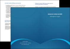 faire depliant 2 volets  4 pages  web design texture contexture structure MLGI95109
