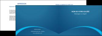modele depliant 2 volets  4 pages  web design texture contexture structure MLGI95113
